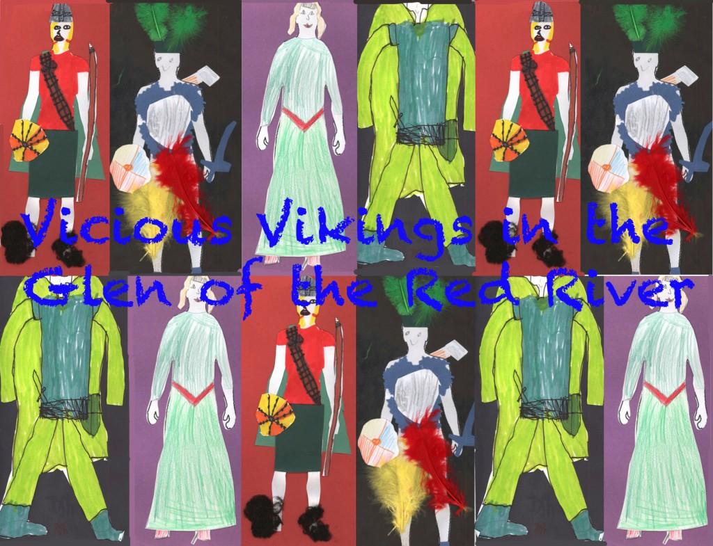 Vikings w: text