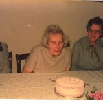 Aunt Nan, Mary McN(80th), Aunt Frances