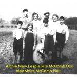 Family & Mrs McCombe