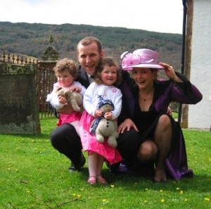Christening celebrations at the Glendaruel Hotel