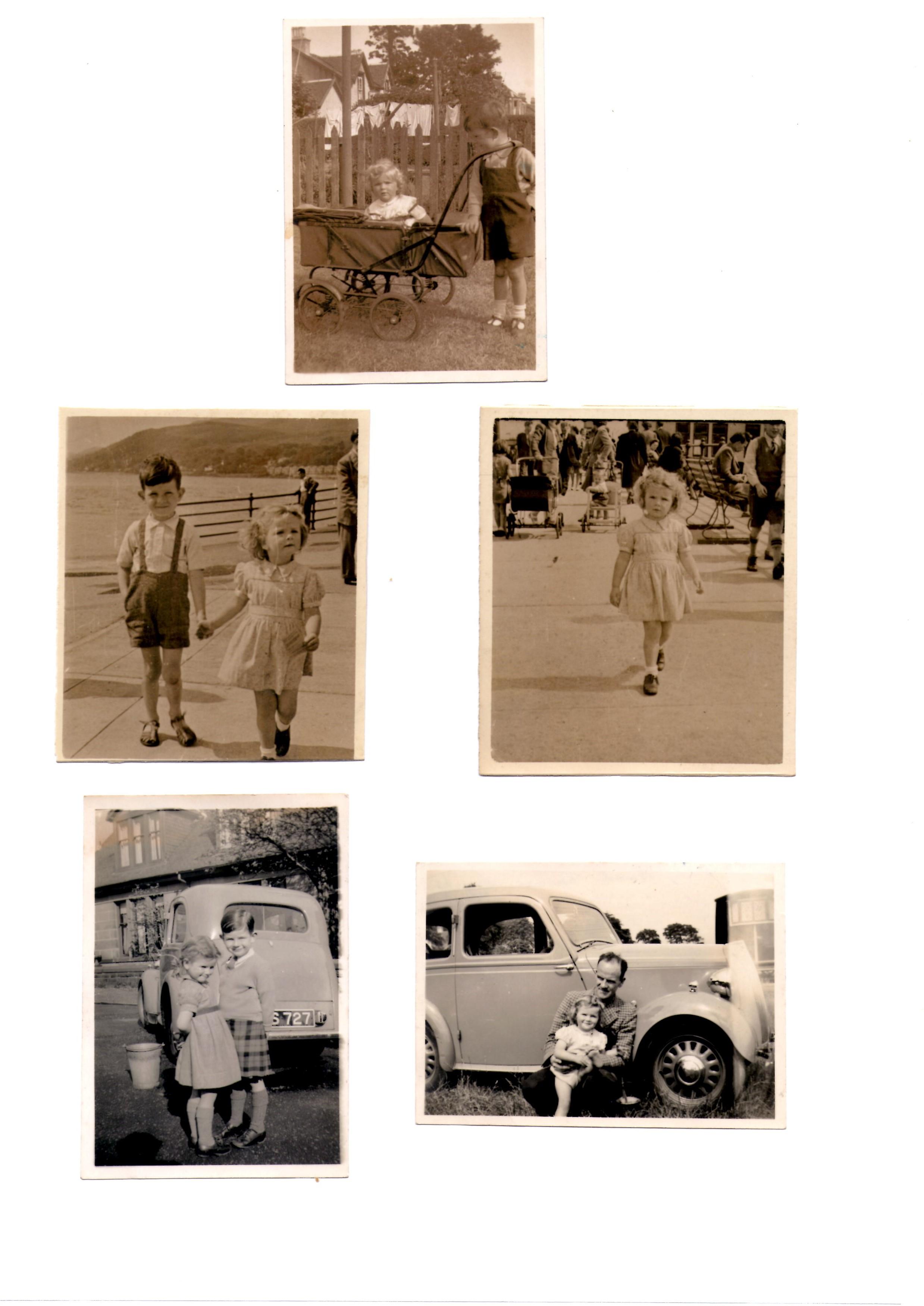 EF Dunoon,  1946, 47, 48