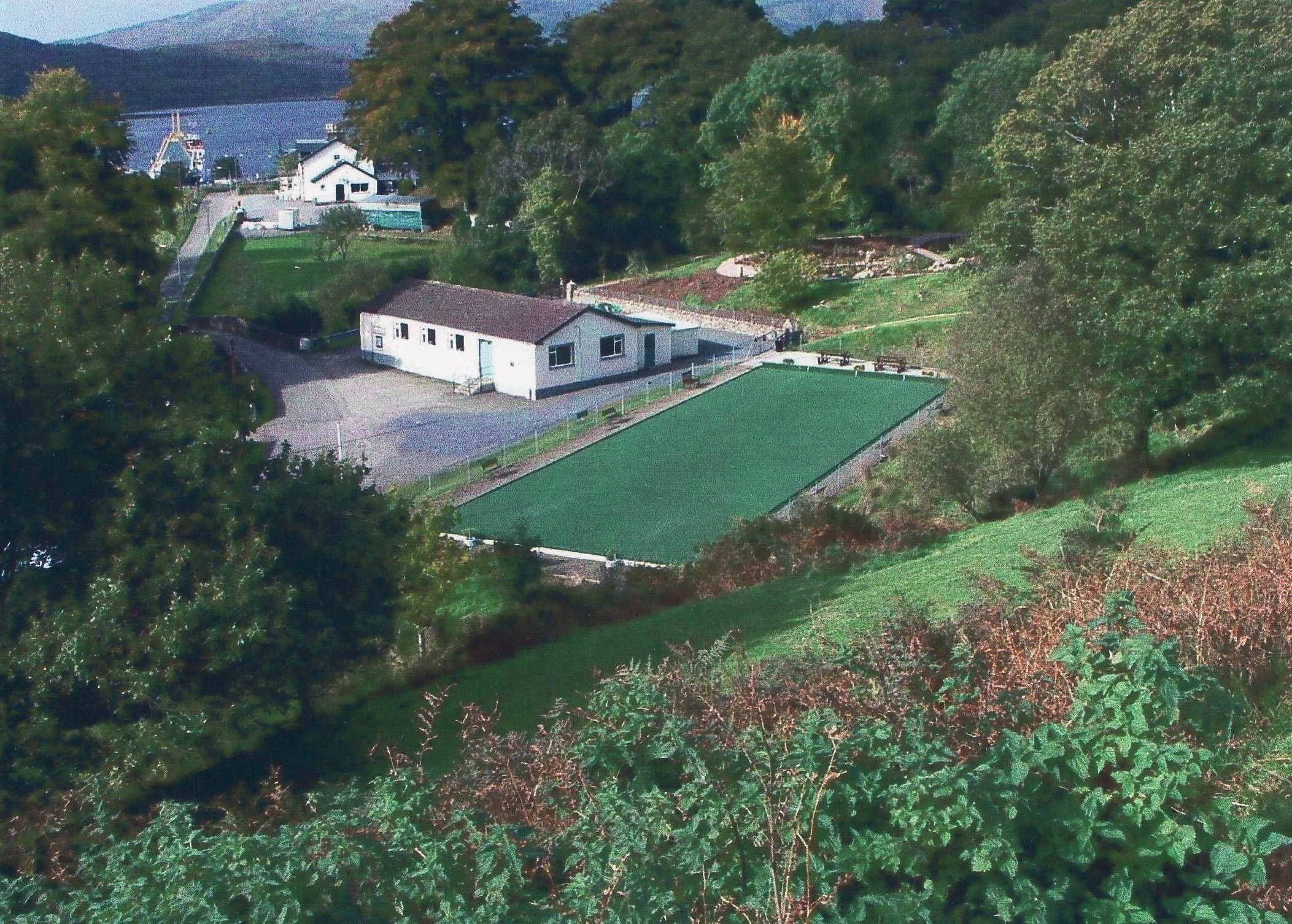 The Village Hall and Bowling Green