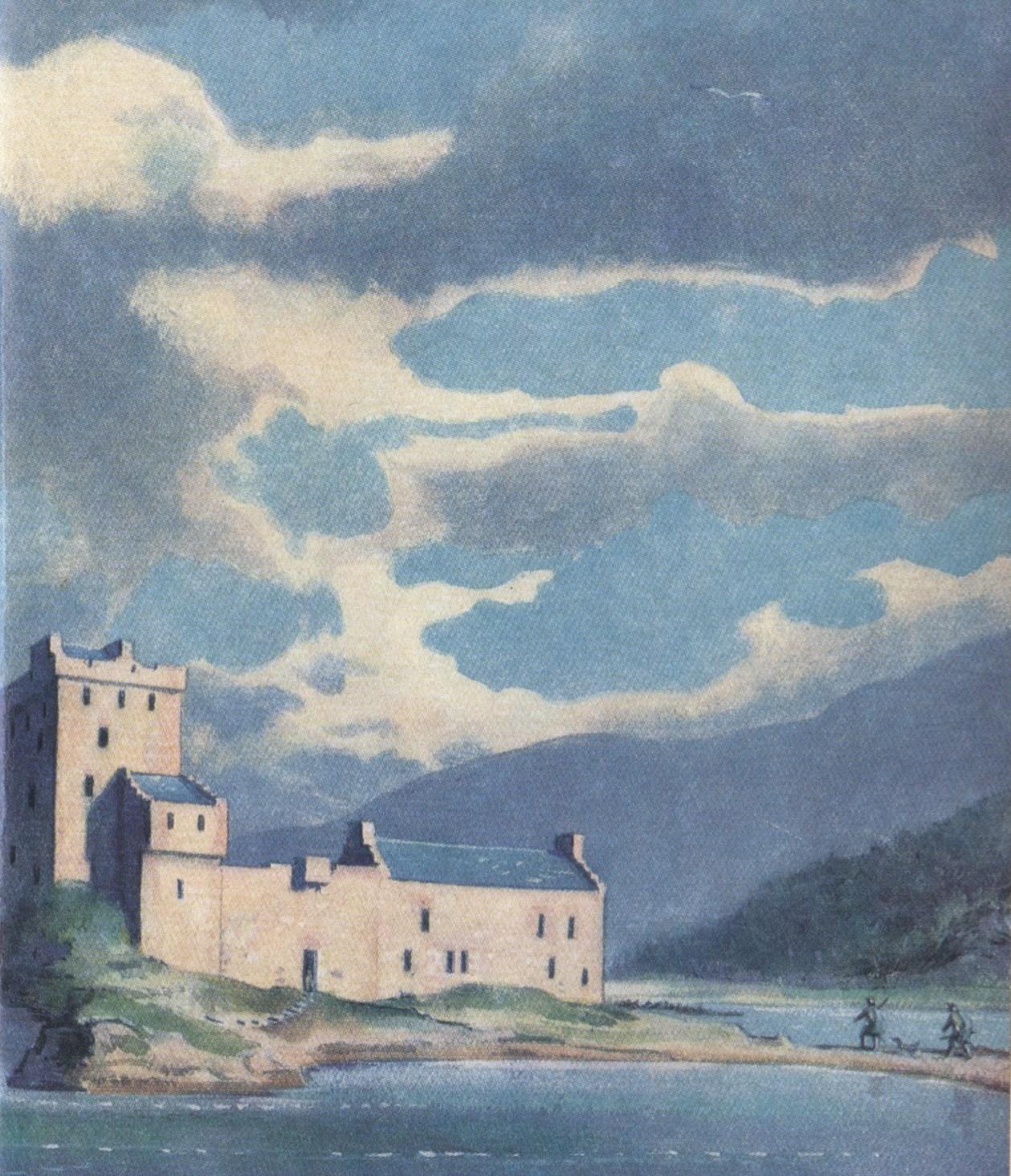 The Castle on Eilean Greig
