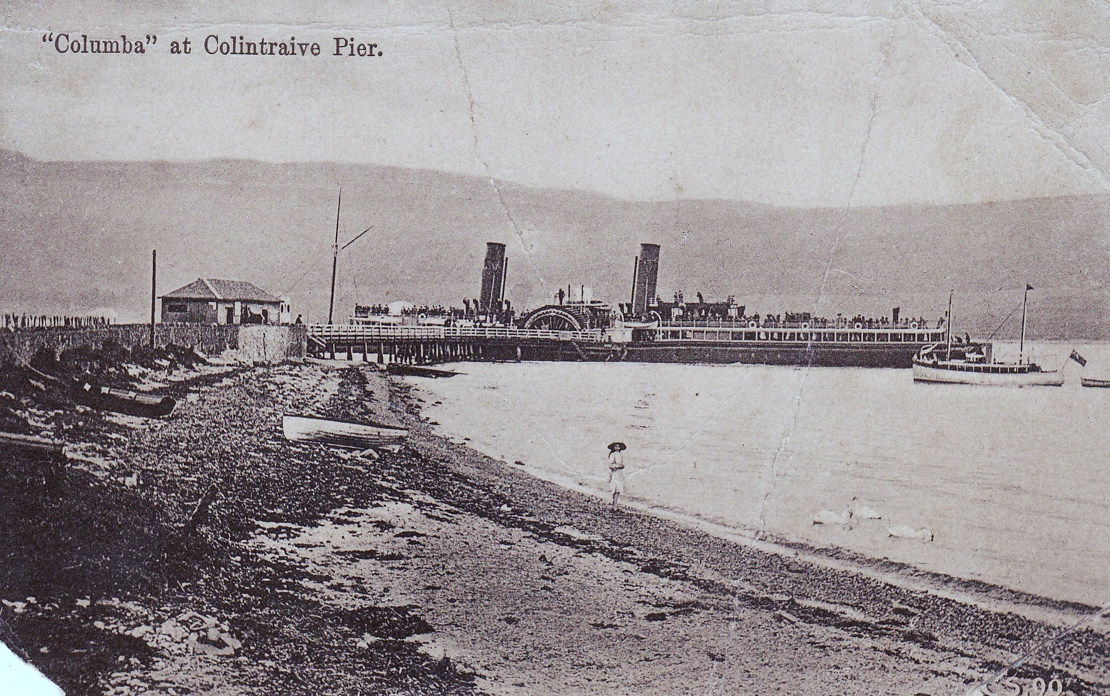 The Columba at Colintraive Pier