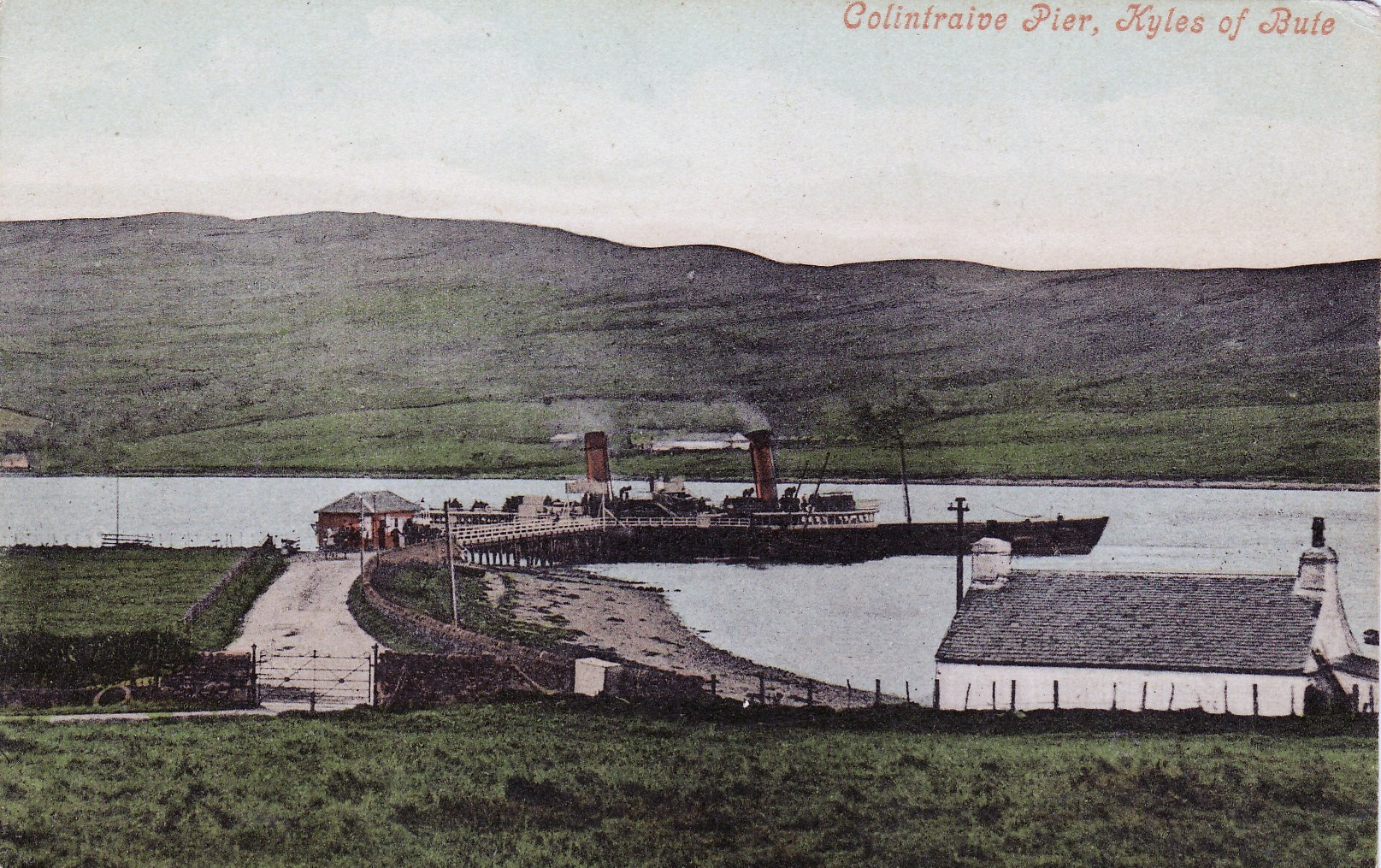 The Iona at Colintraive Pier