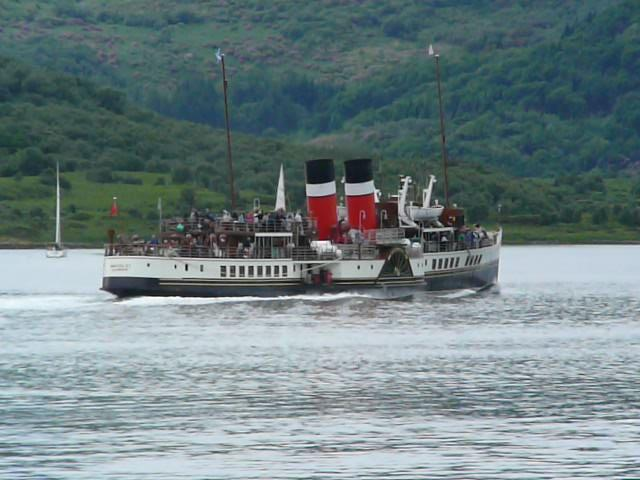 The Waverly: the last Clyde paddle steamer