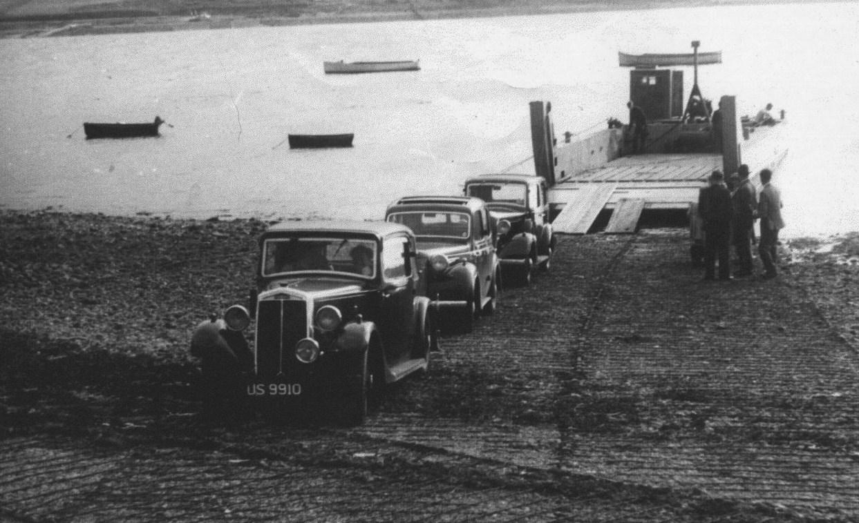 First Colintraive Rhubodach Car Ferry