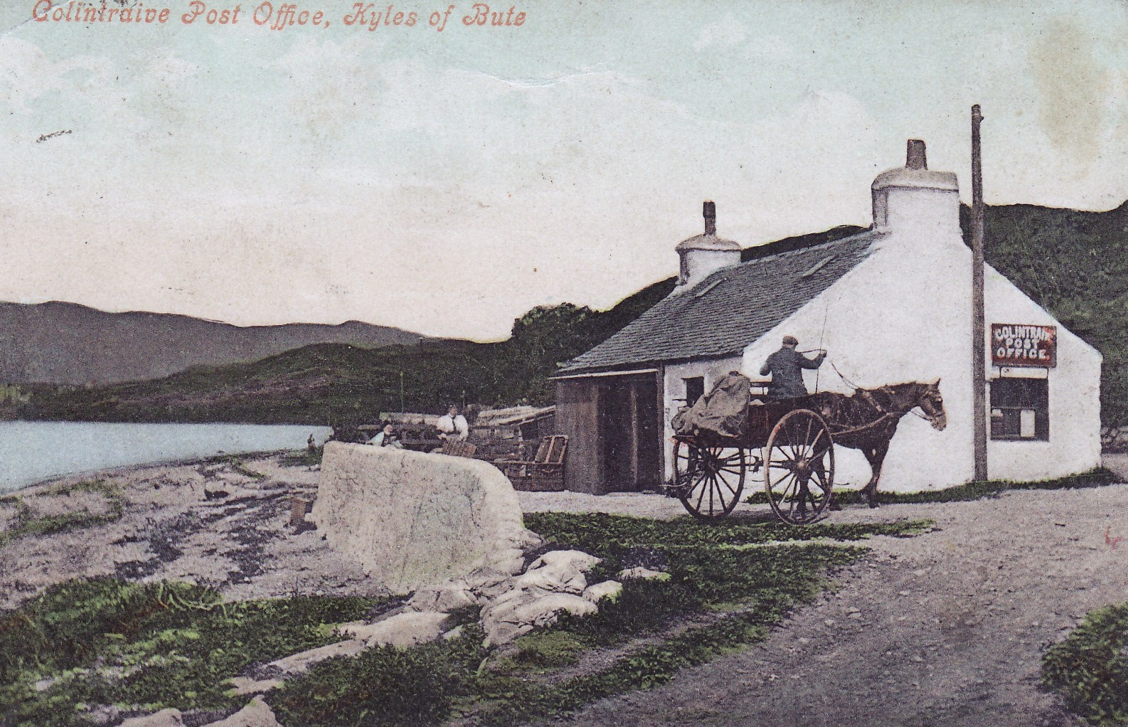 First Post Office by the Pier