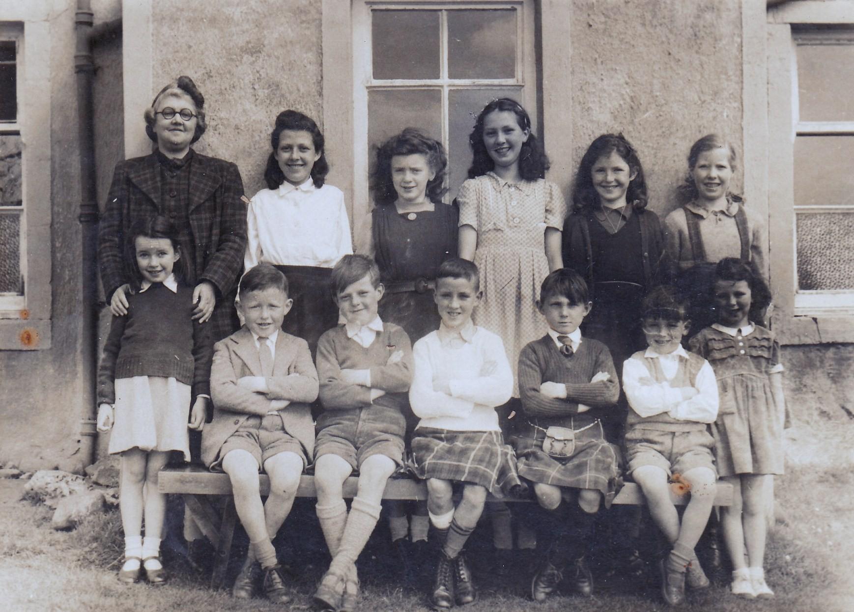 Colintraive School 1949
